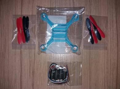 QX90C Frame Kit DIY 8520 Motor Quadcopter Drone