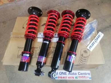 Air one adjustable hilow soft hard for bmw e60