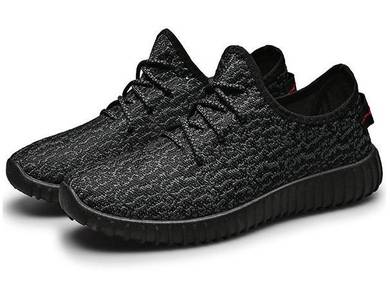 S0251 Black Cool Breathable Sneakers Sport Shoes