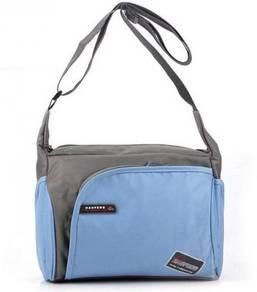 Leon Waterproof Sports Men Sling Bag (Light Blue)
