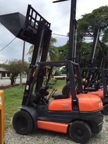 Japan Import TOYOTA 6FD25 2.5 Ton Forklift Diesel