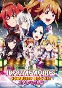 DVD ANIME Idol Memories Vol.1-12End
