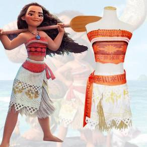 Moana cosplay halloween costume RBC0009
