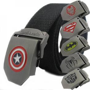 Marvel dc comic transformer super hero belt