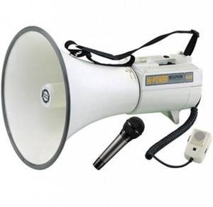 Megaphone Loud Hailer SHOW ER-68 (Big) with Mic