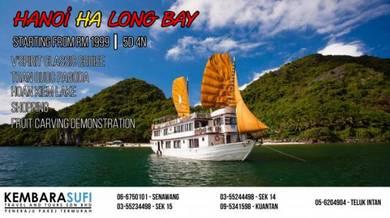 Pakej Hanoi Ha Long Bay 2018