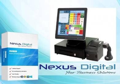 Computer pos system mesin cashier basic ver1.38777