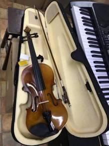 Full Size Violin (4/4) : Natural (Deviser)