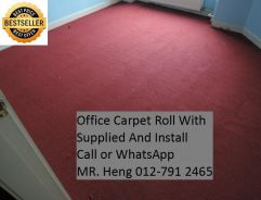 Office Carpet Roll with Expert Installation 40PV