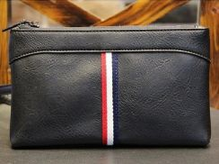 B042 NEW Big Size Clutch Bag Men's Long Wallet