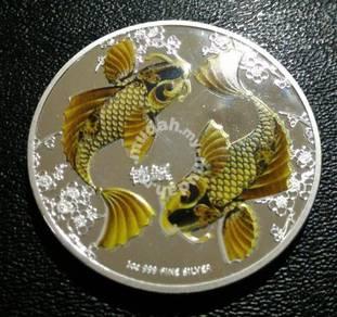 2013 Fine silver coin 1oz 999