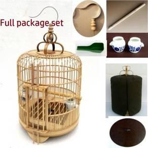 Bamboo Bird Cage Sangkar Burung Cantonese style 2