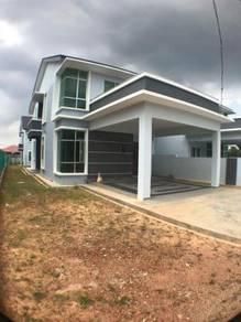 New Double Storey Semi D 4000SQFT Taman Sutera Wangi For Sale