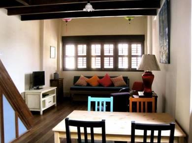 Pre War Heritage House in George Town. Penang