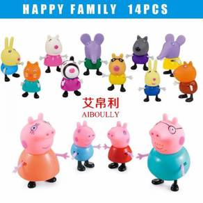 Peppa Pig Family and Friends 14 pcs