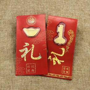 999 Gold Red Packet Ang Pao Chinese New Year 2019