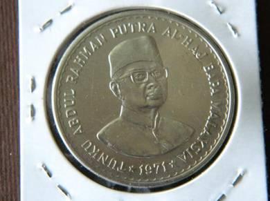 Syiling 5 Ringgit Tunku Abdul Rahman