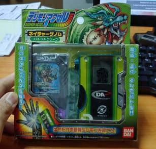 Digimon accel nature genome fullset