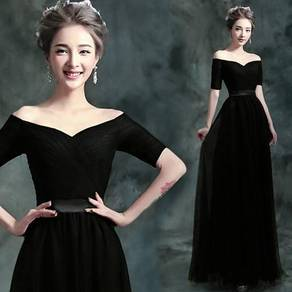 Super good quality black gown