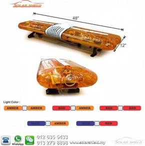 Amber Emergency Lightbar LED Strobe Light
