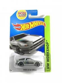 Hotwheels Toyota AE-86 Corolla #222 Zamac