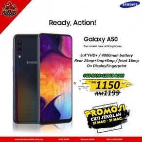 Samsung Galaxy A50 [ 6+128GB ] New Original set