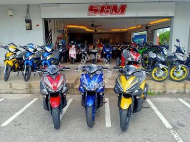 Yamaha nvx 155  pkpd year end clear stock 20