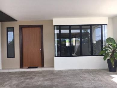New Gated Guarded Double Storey Terrace at Jalan Stephen Yong