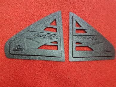 Bezza triangel side window cover cermin segitiga