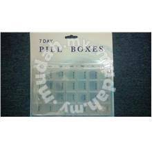 7 Day Pill Box bekas vitamin