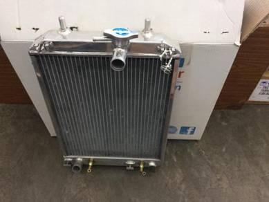 Synergy aluminium radiator PERODUA MYVI lagi best