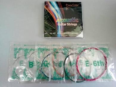 Deviser Acoustic Guitar Color String (PA-A40)