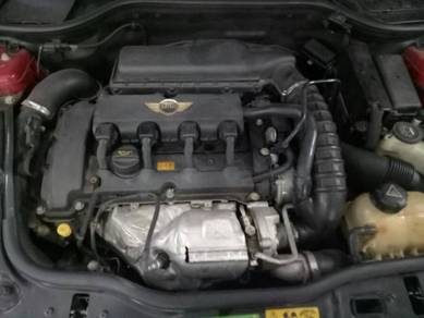 Mini Cooper R56 turbo engine spare part