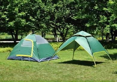 Auto tent khemah mudah buka tutup