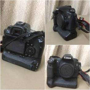 Canon 60D + ori Battery grip