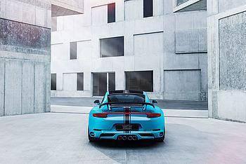 Porsche Carrera 991.2 Techart Rear Spoiler 2