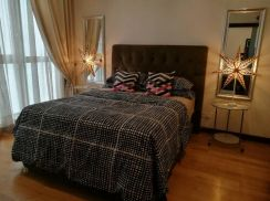 Regalia Residence | KL City | Fully Furnished Bedroom with Pool View
