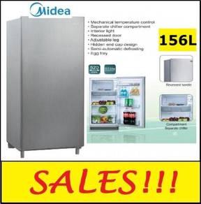 Midea MS-196 Single Door Fridge 151Liter-NEW