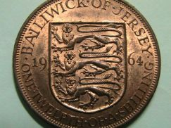 Bailiwick of Jersey 1/12 of a Shilling 1964 (UNC)