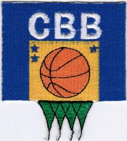 Brazil FIBA World Cup National Basketball Patch