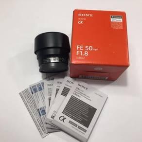 Sony fe 50mm f1.8 (sel50f1.8f) sony 50mm