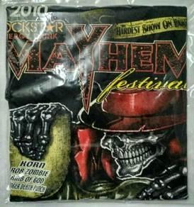 Baju Mayhem Festival 2010 T-shirt