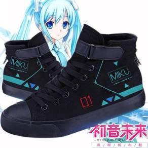 Anime Hatsune Miku fashion canvas shoes