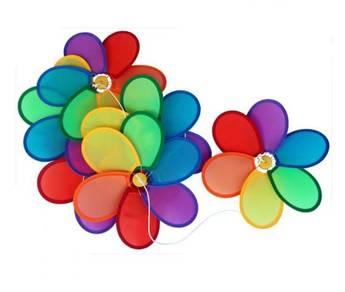 Flower Windmill (Colourful) : hiasan playschool