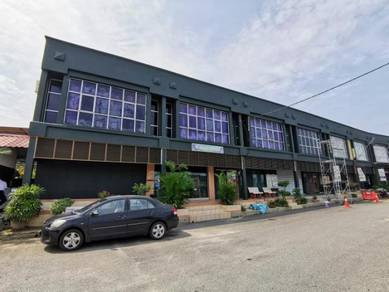 GOOD ROI with Long Term Tenant 3 COMBINING SHOPLOT Taman Kota Kenari