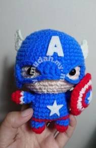 Captain America - Amigurumi/ crochet