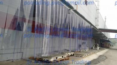 Outdoor Flat PVC Strip Curtain