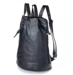 Ava Retro Street Style Casual Bag Backpack (Black)