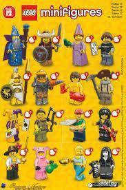 LEGO Minifigures Series 12 71007 1 set 16 packs