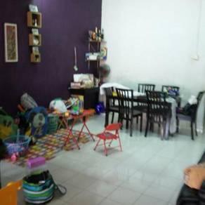 {RENOVATED} double storey taman KLANG UTAMA BUKIT RAJA
